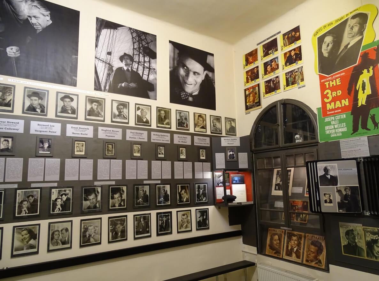 В музее посвященном фильму «The Third Man»