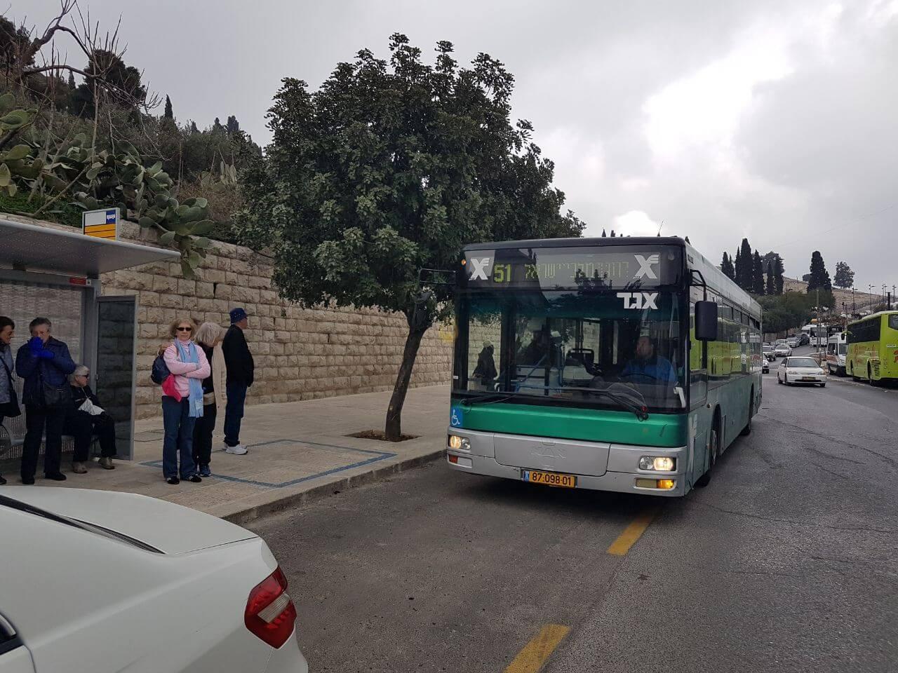 Автобус 51 из Иерусалима