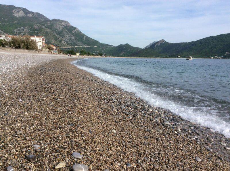Пляж Булярица в Черногории