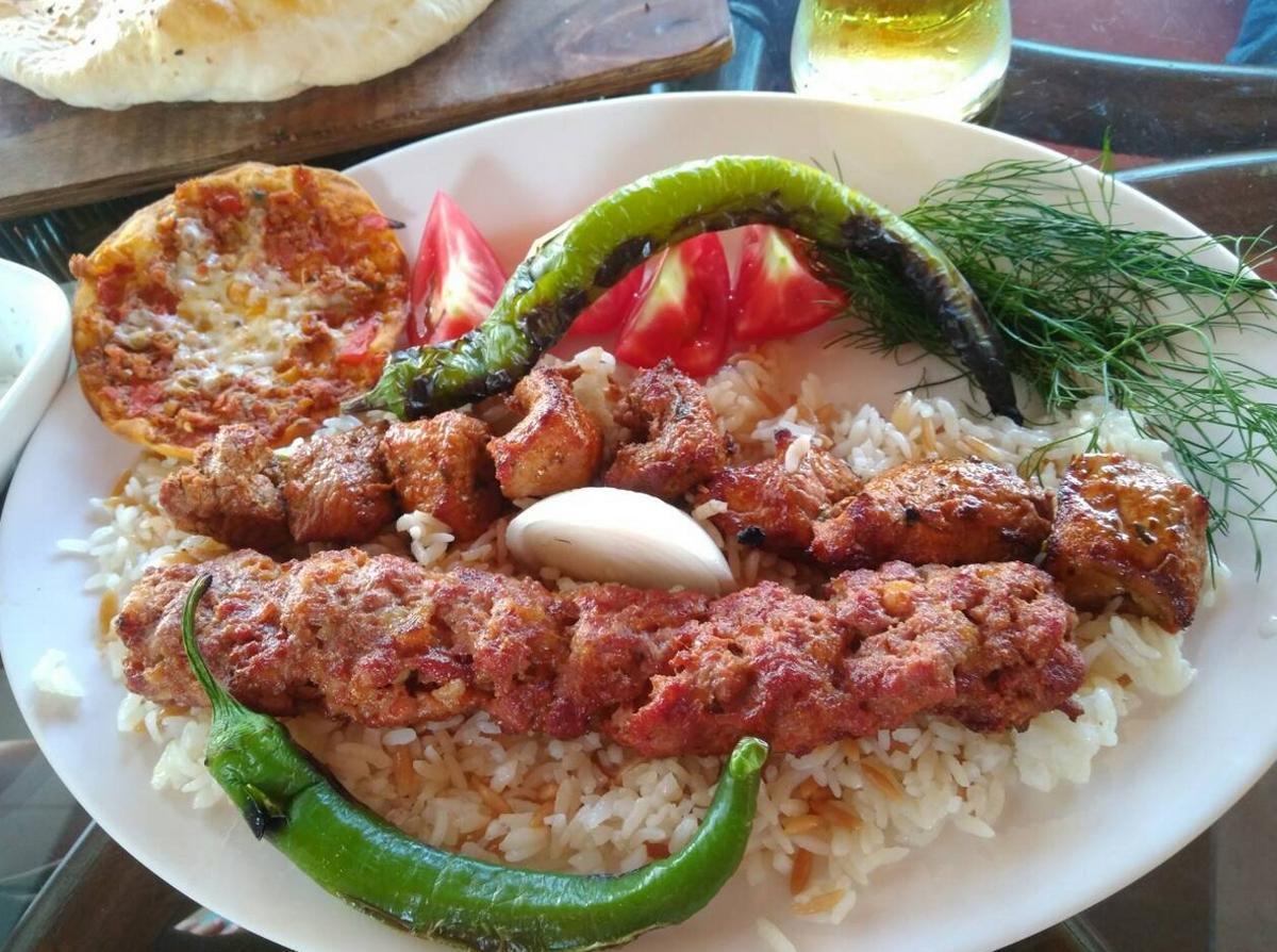 Кебаб на обед