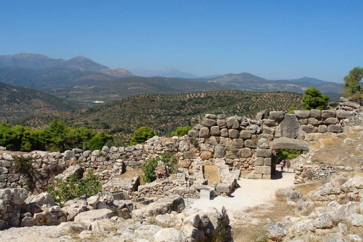 Древний город Микены