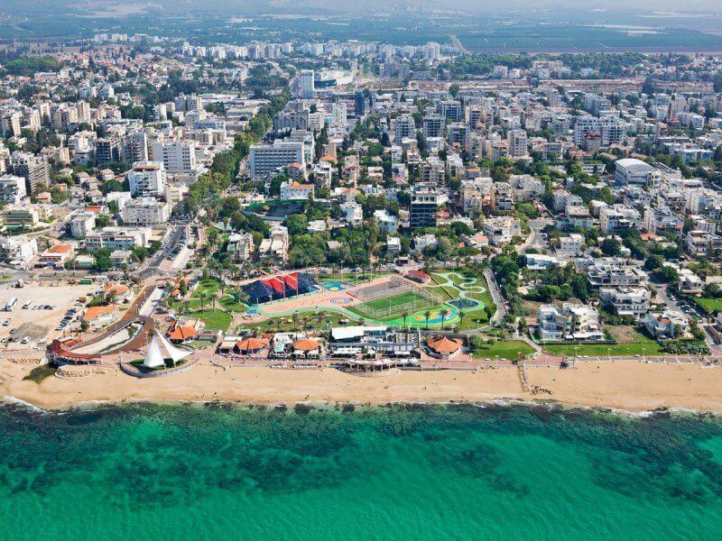 Курорт Нагария, Израиль