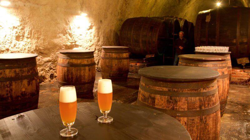 Пивоваренный завод Pilsner Urquell, разливочный цех