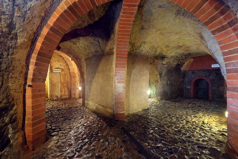 Пльзенское историческое подземелье в Чехии