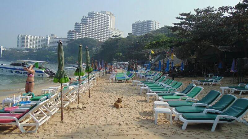 Пляж Кози в Таиланде