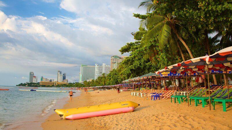 Пляж Паттайя, Таиланд