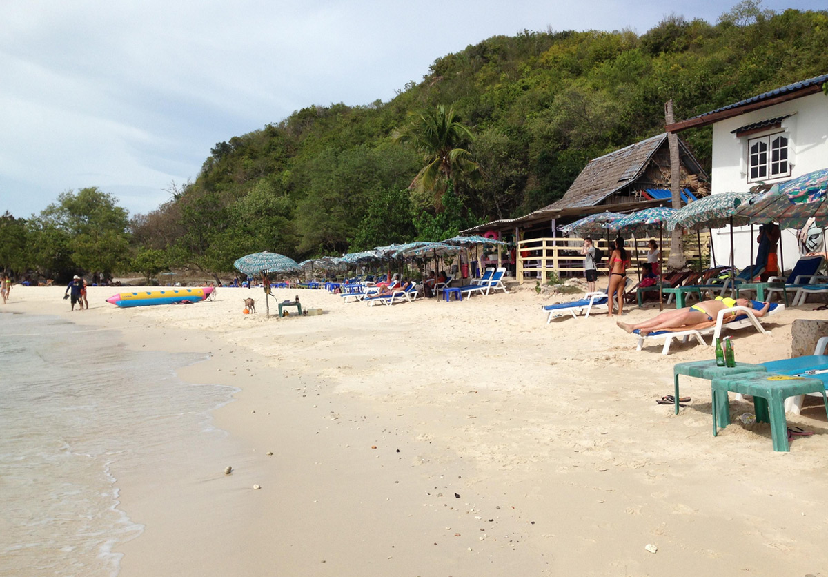 Отдых на пляже Тай Яй