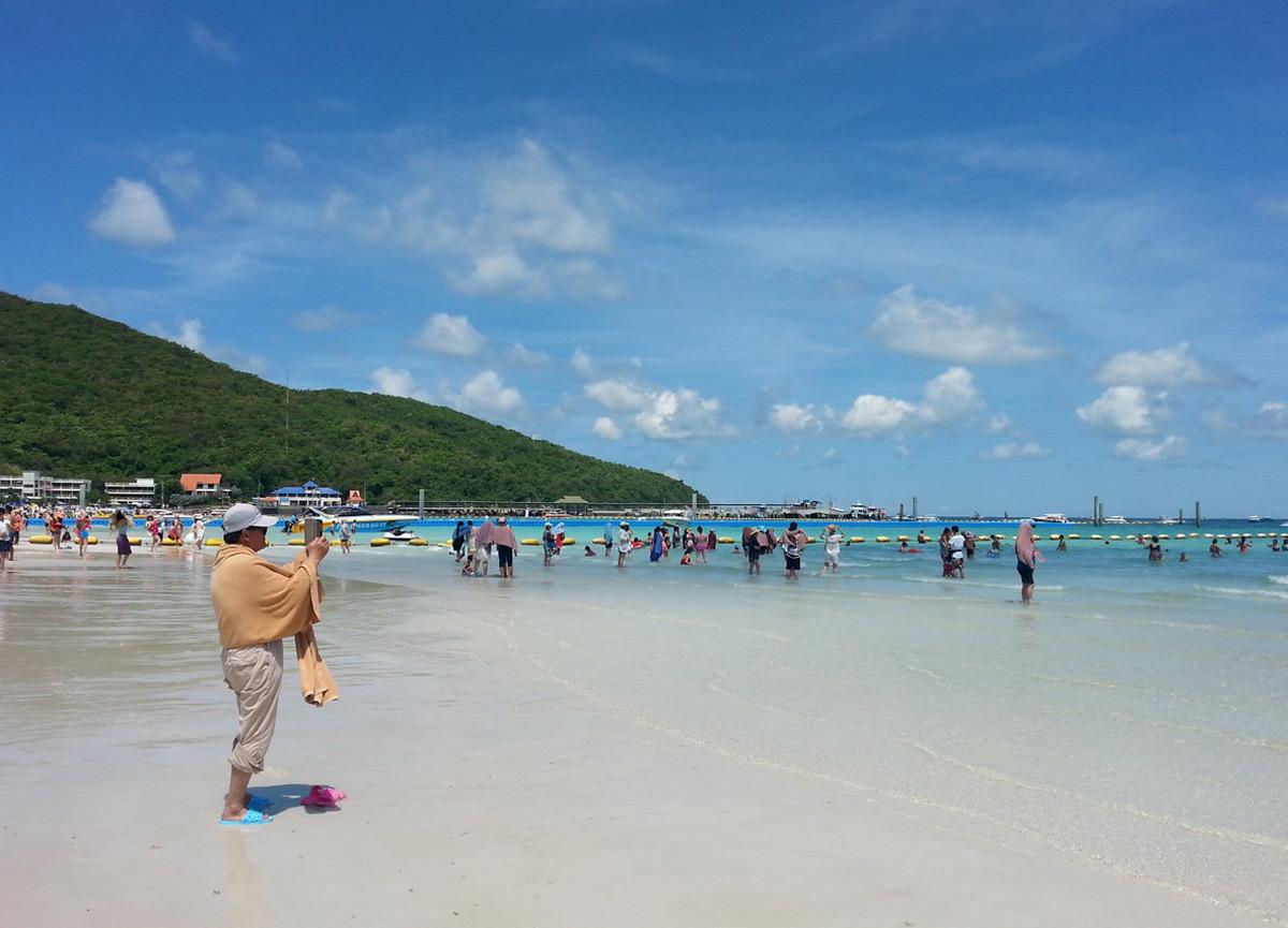 Tawaen beach острова Ко Лан