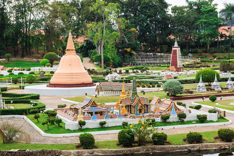 Зона парка «Мини Сиам»