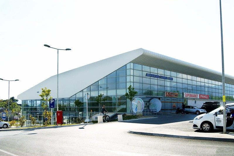 Аэровокзал в Тивате