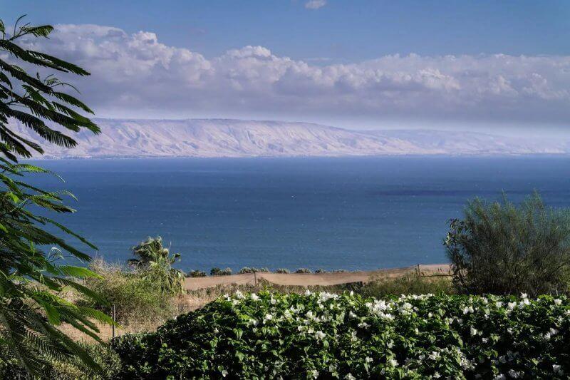 Озеро Кинерет в Тверии