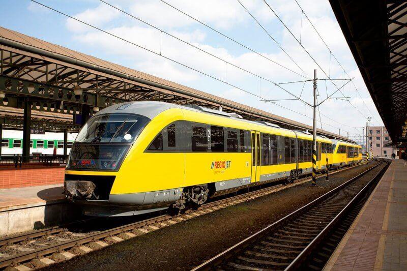 Поезд RegioJet