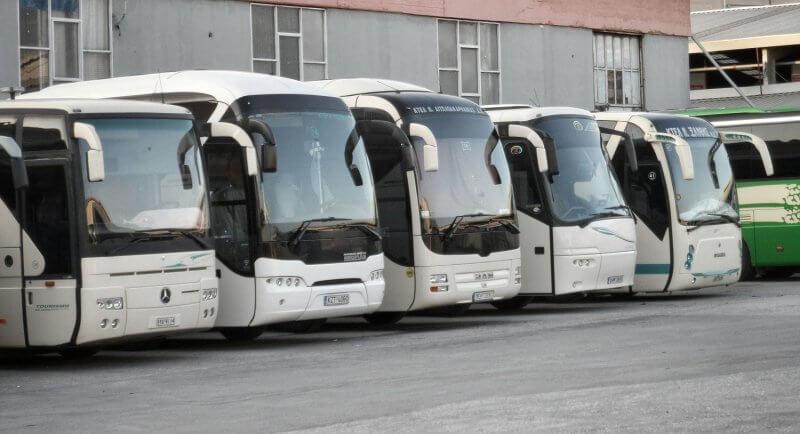 Автобусы в Волосе, Греция