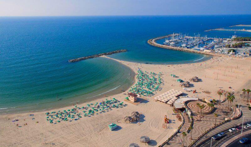 Средиземное море, Израиль
