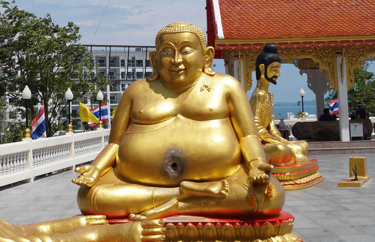 Самый толстый Будда – символ финансового благополучия