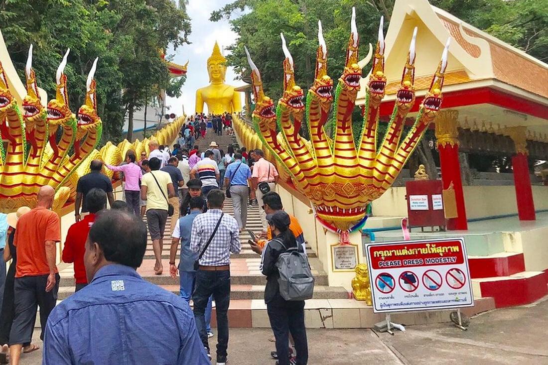 Дресс код в храме Большого Будды