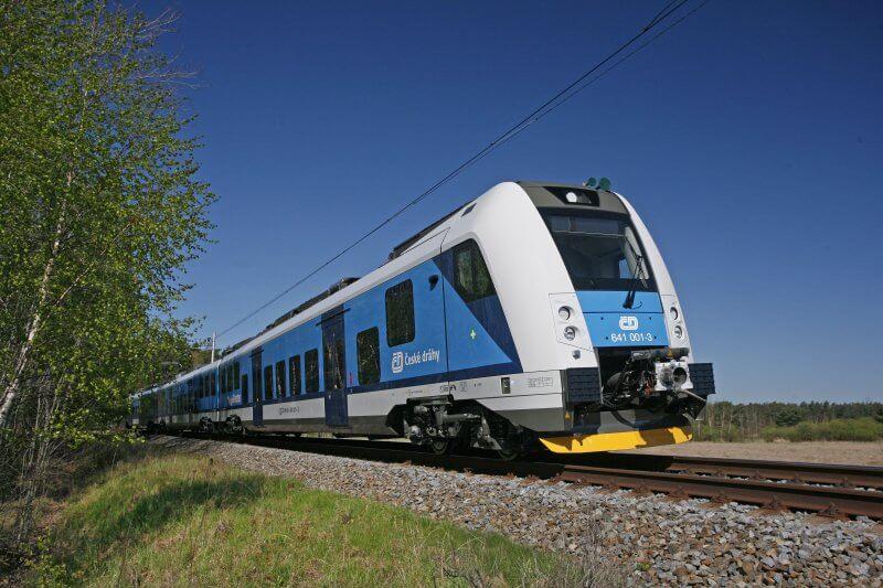 Поезд в Оломоуце