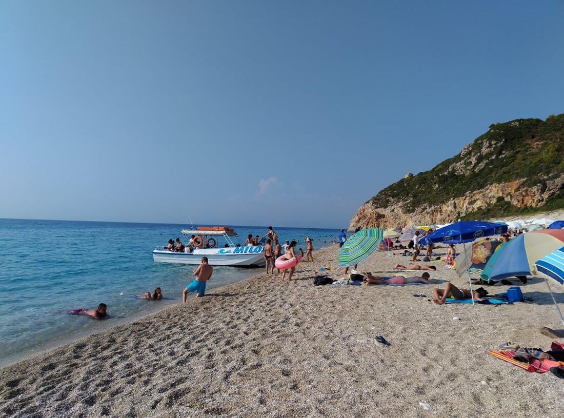 Пляж Милос