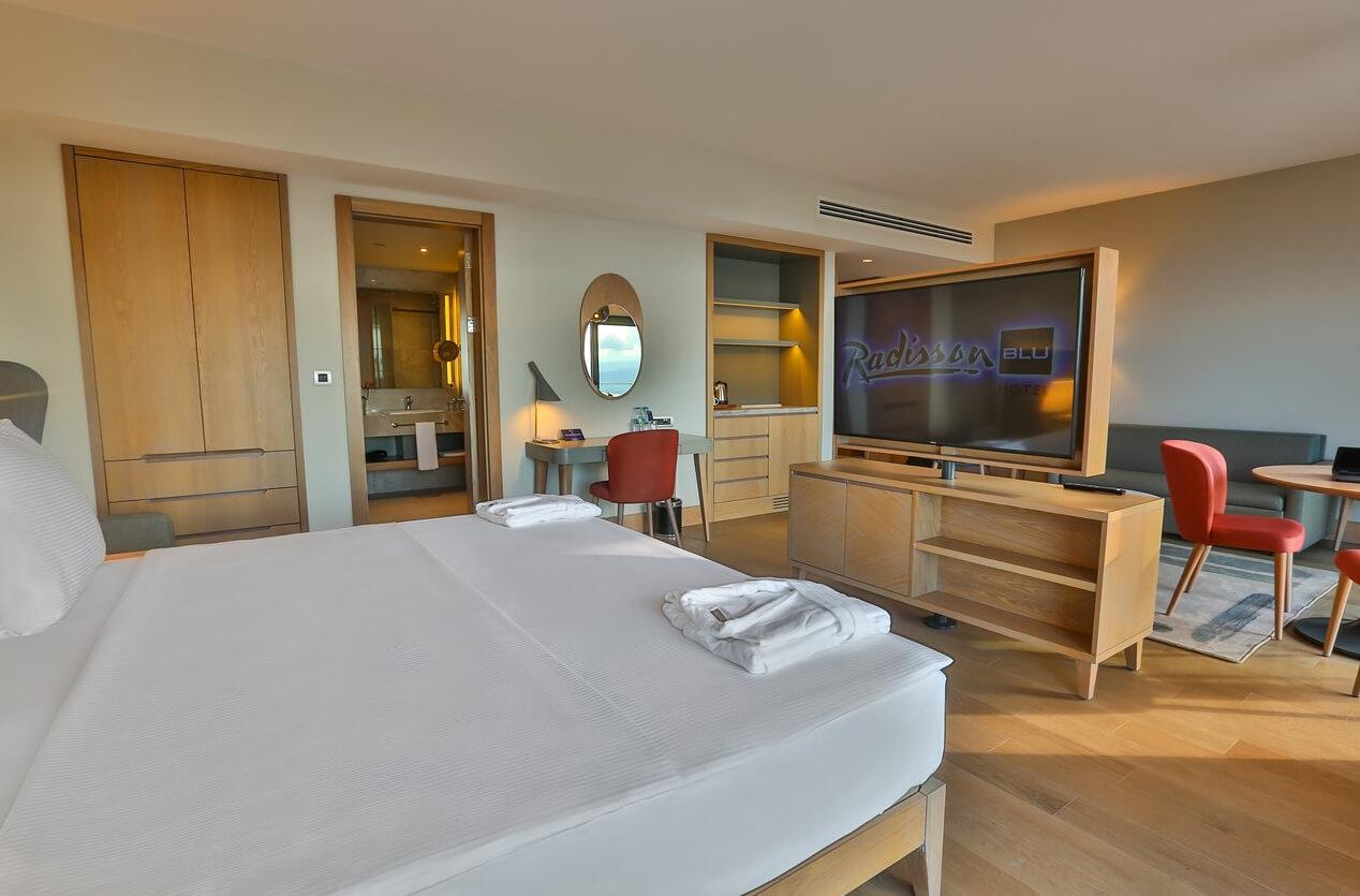 Номер в отеле Radisson Blu Hotel