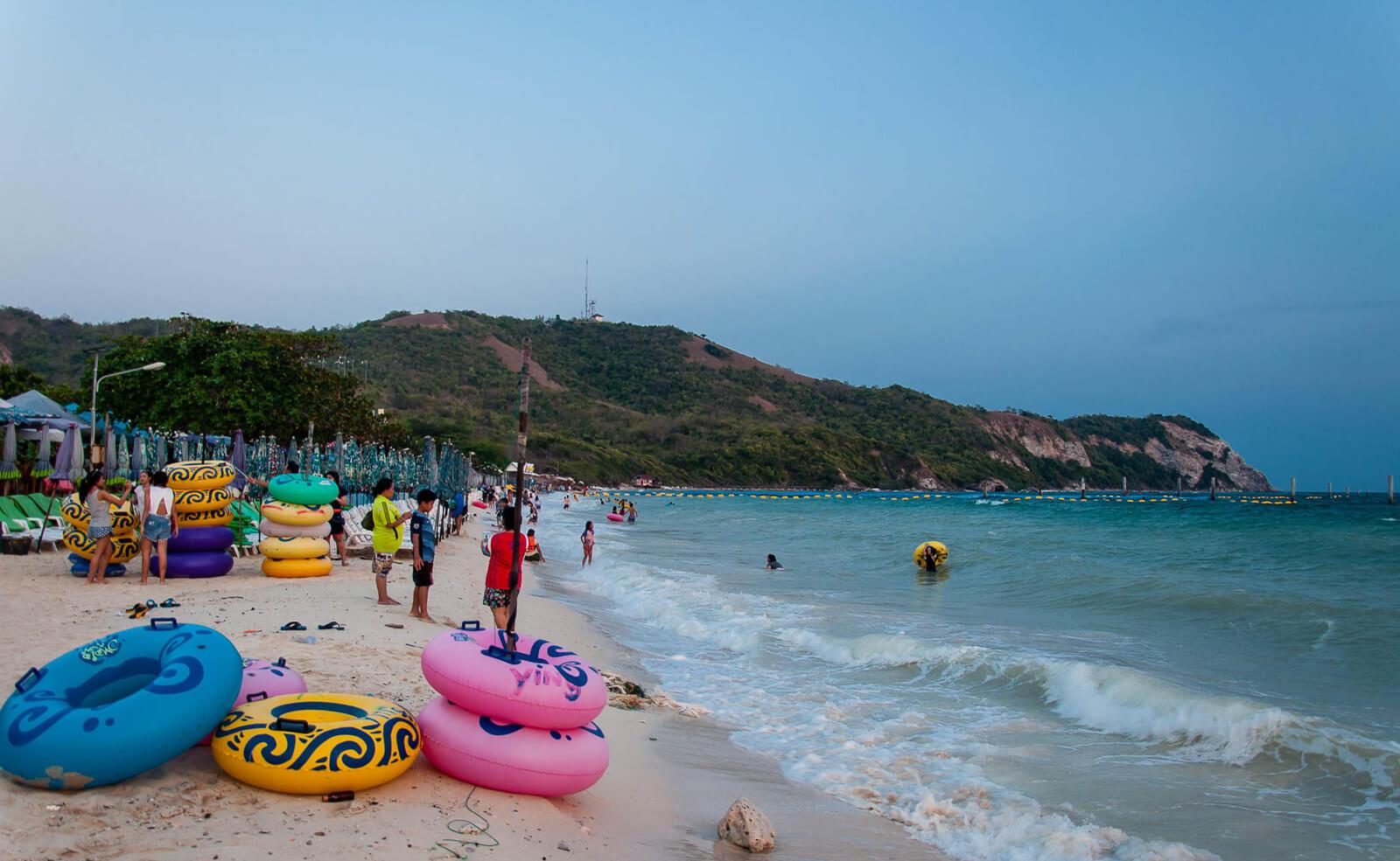 Samae beach, остров Ко Лан