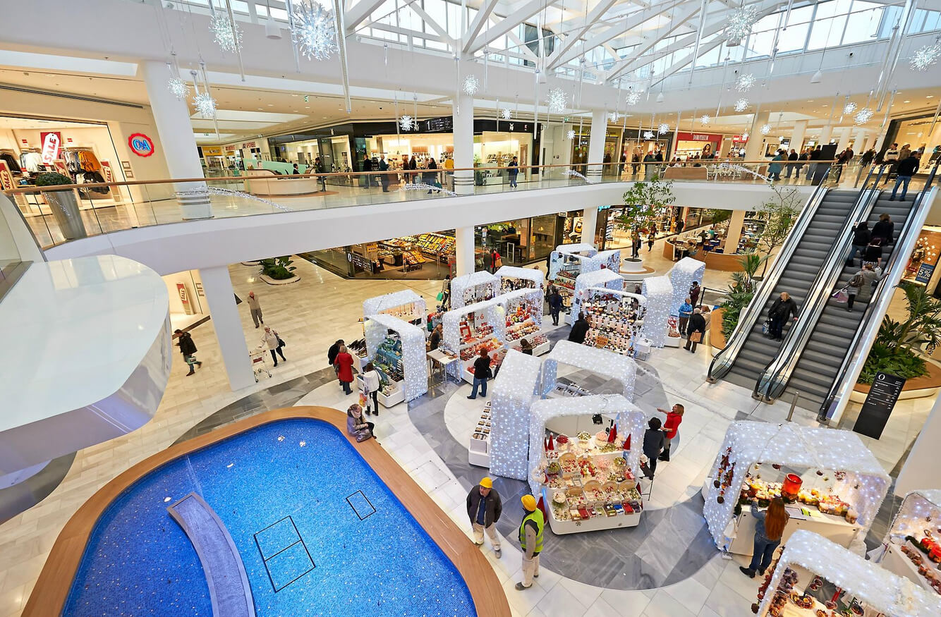 Шоппинг в Shopping City Süd