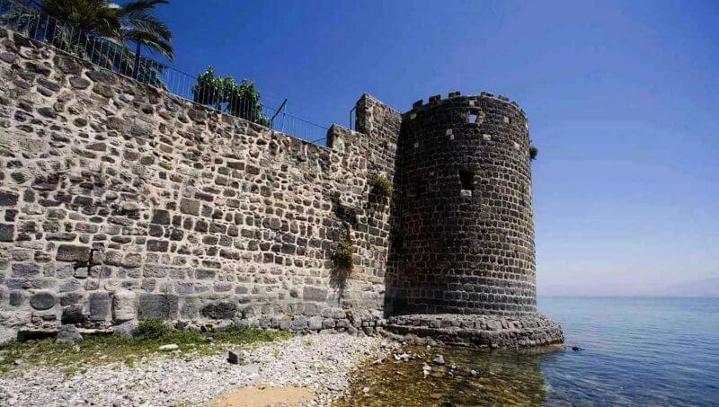 Крепость в Тверии