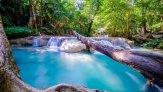 Водопад Эраван – изюминка Национального парка в Таиланде