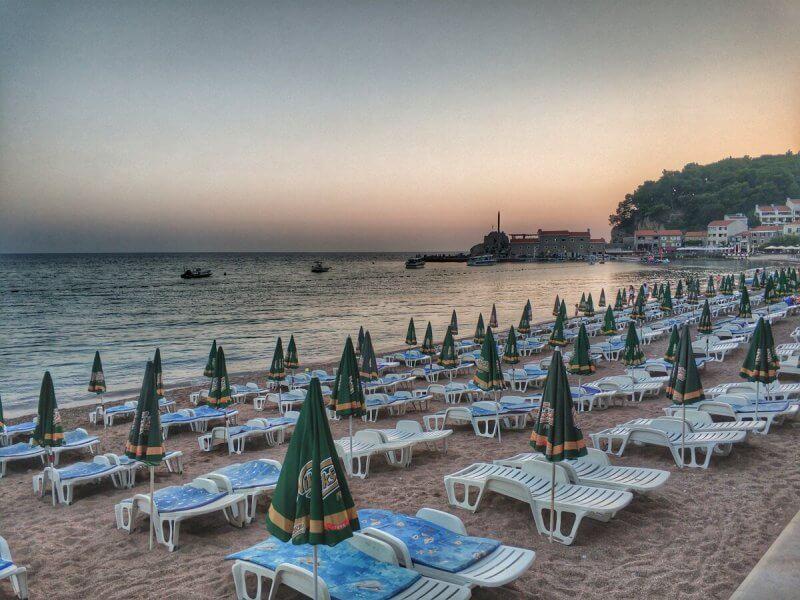 Городской пляж, Петровац