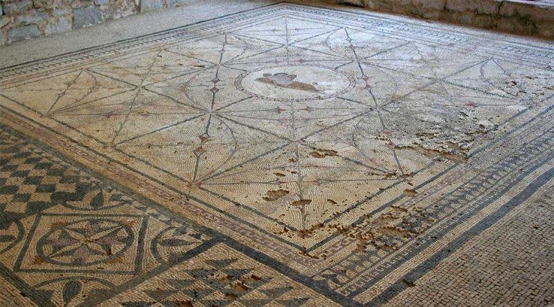 Римская мозаика, Черногория