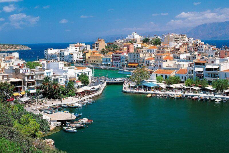 Порт в Агиос-Николаос