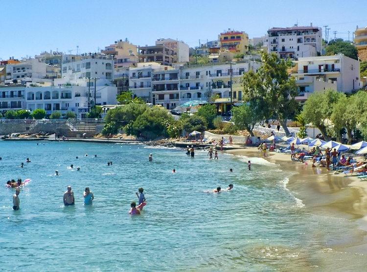 Пляж Аммоуди