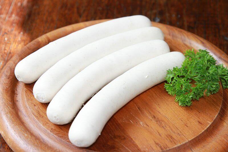 Белые колбаски