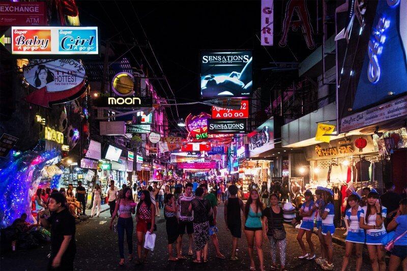Волкин Стрит (Walking Street Pattaya)