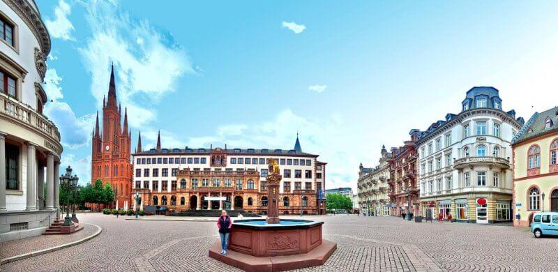 Дворцовая площадь, Висбаден