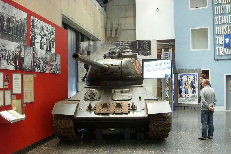 Танк в Национальном музее современной истории ФРГ