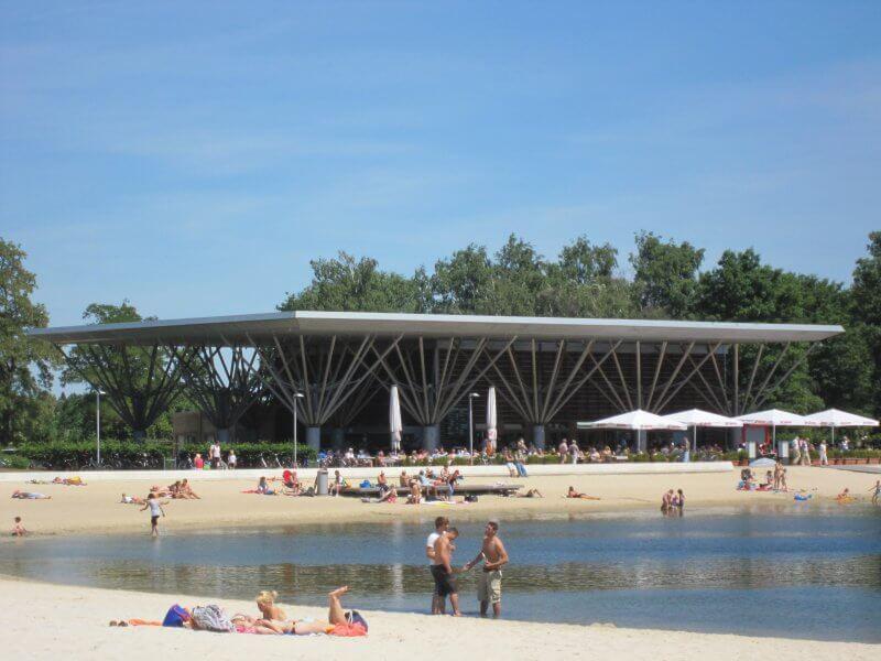 Парк Allerpark в Вольфсбурге