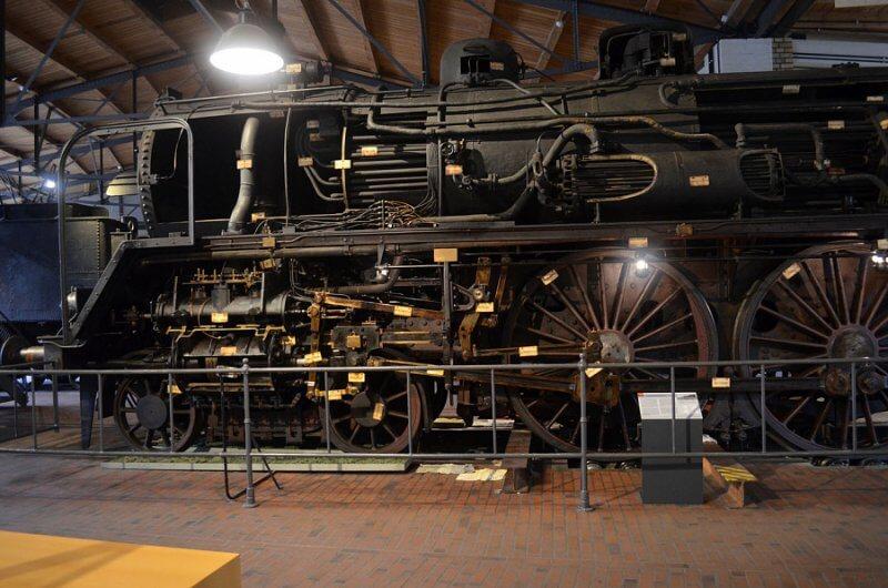 Зал в техническом музее