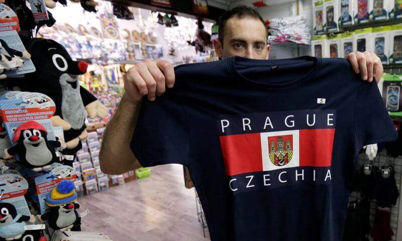 Футболка с символикой Чехии