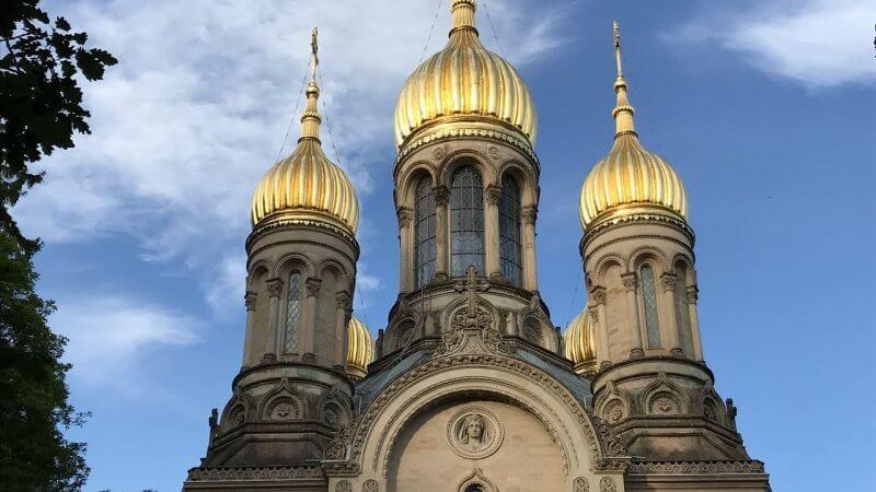 Купола церкви святой Елизаветы