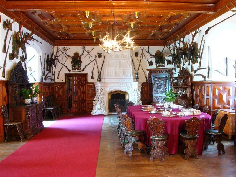 Частные апартаменты в замке Глубока-над-Влтавой