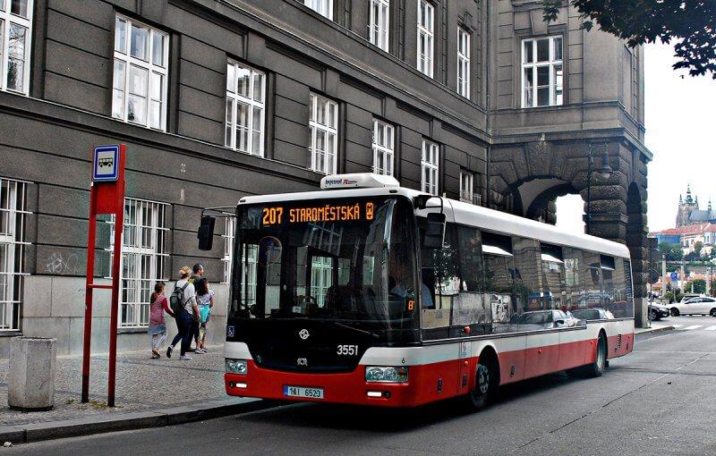 Автобус Праги