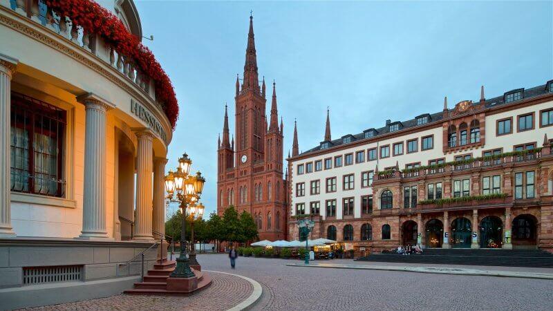Отель в Висбадене