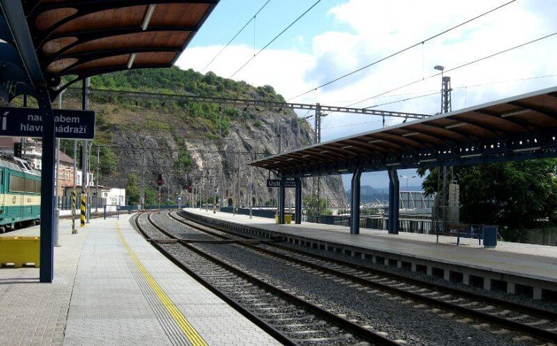 Станция Усти-над-Лабем