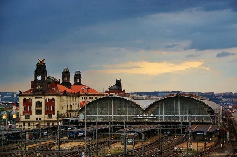 Железнодорожный в Праге