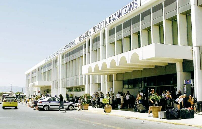 Аэропорт, Ираклион