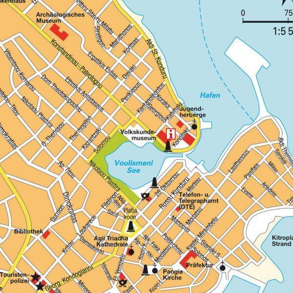 Карта Агиос-Николаос