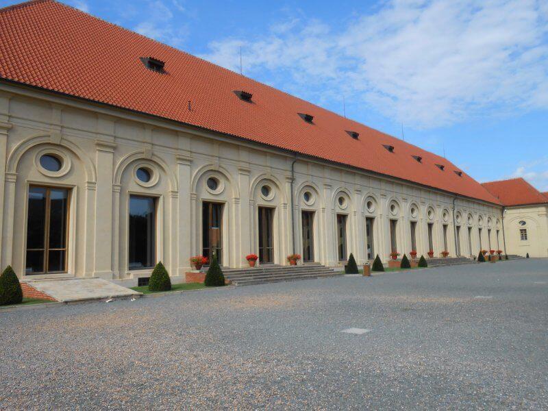 Манеж в Праге