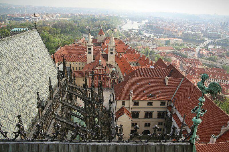 Смотровая площадка собора св. Вита
