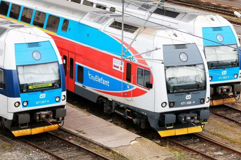 Поезд Czech Railways
