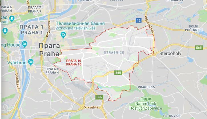Район Прага-10